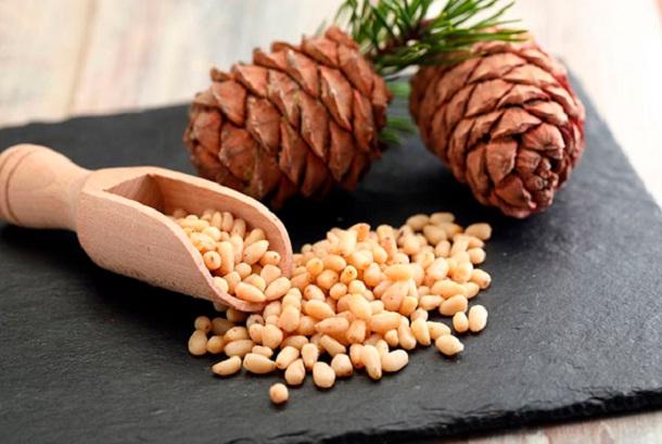 Кедровые орехи химический состав
