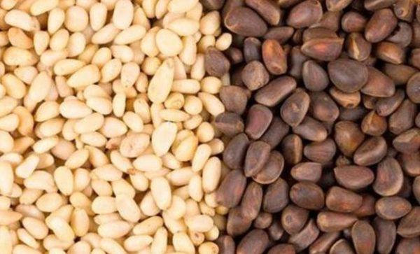 Кедровые орехи (очищенные и в скорлупе)