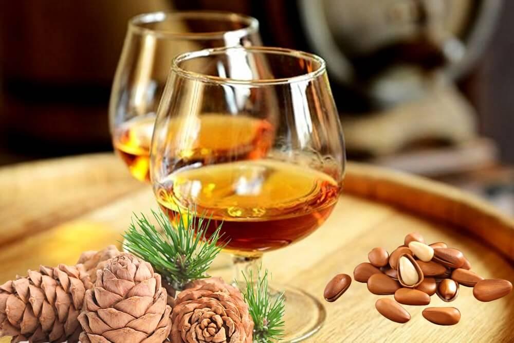 Настойка на кедровых орешках: рецепты, лечебные свойства