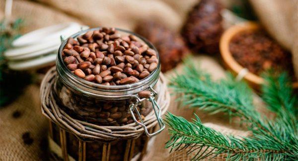 Настойка с кедровыми орешками на водке рецепт