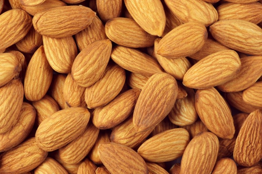 Калорийность миндальных орехов в 100 г